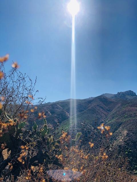 The Sun, The Mountain andMe